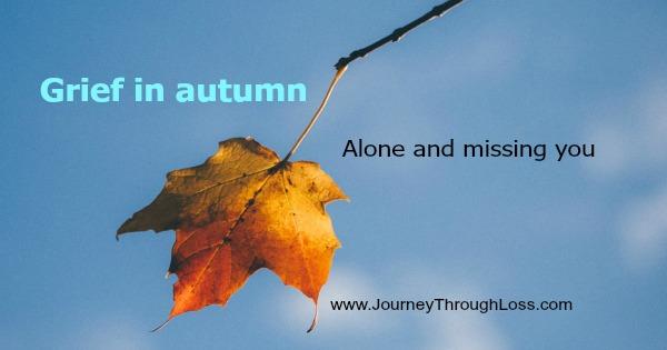 Grief in autumn