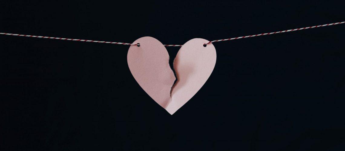 Broken Heart by divorce or grief